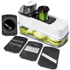 Mandoline Slicer Vegetable Spiralizer Food Kitchen Cutter Cheese Grater Blades #FullStar