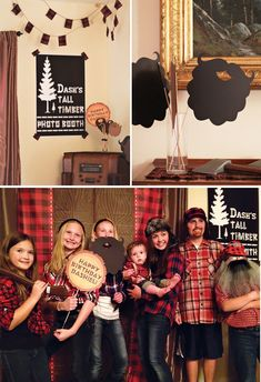 Creative & Woodsy Lumberjack First Birthday // Hostess with the Mostess®