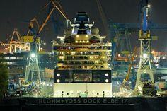 #Hamburg #Hafen #Werft #Blohm_und_Voss