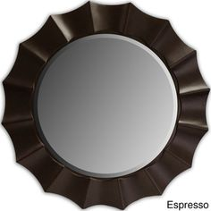 Sunshine Beveled Decorative Round Mirror - Overstock™ Shopping - Great Deals on Mirrors