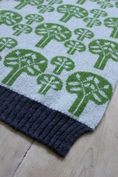 "Baby blanket - throw ""Forest""// € 99,- // Bobbiño kids ♥ Sally Nencini"