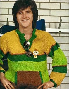Bay City Rollers, Les Mckeown, Teenage Dream, My Childhood, Christmas Sweaters, Men Sweater, Pictures, Woody, Fashion