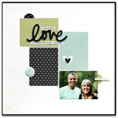 Scrapbook.com Layout Projects: Clean & Simple
