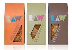 Raw Health Packaging by Pearlfisher UK