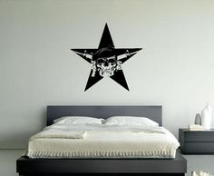 Pin Up Girl Sticker American Flag Girl Vintage Poster Wall Decal Mural Gift #137