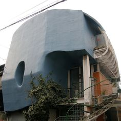 unusual house #9605