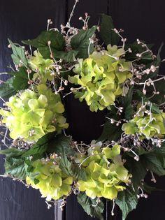 Summer front door wreath.