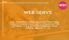 Our WordPress designers know that your website is more than just a domain on the internet, it is a true extension of your digital brand. Email : sales@websolutionscompany.com.au #Marketingindelhi #Marketingindia #Marketingindelhi #Marketingindindia #MarketingMelbourne #MarketingAgencyMelbourne #MarketingCompanyinMelbourne #Marketing #MarketingBrisbane #MarketingPerth #WebsiteDesignBrisbane #WebsiteDesignPerth #websolutionscompany #wsc Brisbane, Wordpress, Designers, Internet, Marketing, Website, Digital