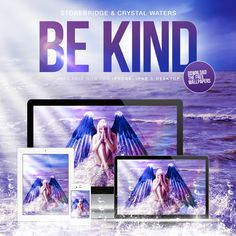 Check these awesome 'BE KIND' wallpapers - get them for free over at www.stoneyboy.com or www.realstonebridge.com #stonebridge #crystalwaters #bekind #stoneyboymusic