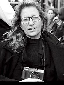 "Annie Liebovitz:  ""A thing that you see in my pictures is that I was not afraid to fall in love with these people."""