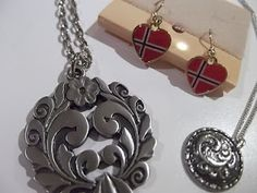 Norwegian Jewelry... I have some beautiful pieces that belonged to my grandparents...