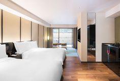 豪华双床房+YUZUNOHA