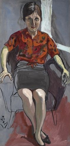 "ALICE NEEL - ""Christy White"" (1958)"