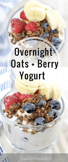Overnight Oats + Ber
