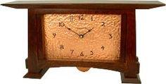 Craftsman style clock