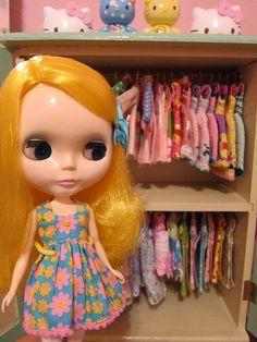 Goldie - Feel the Sky Blythe by Primrose Princess, via Flickr