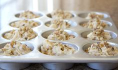 Nuts and bananas about Banana Nut Muffins | Magdiner #muffins #nuts #bananas