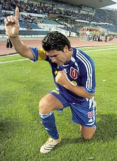 Marcelo Salas!! #UdeChile World Football, Football Players, Premier League, My Passion, Rock And Roll, Legends, Soccer, Baseball Cards, Sport