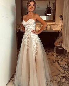 Tulle Wedding, Boho Wedding Dress, Yard Wedding, Backless Wedding, Wedding Attire, Mermaid Wedding, Romantic Wedding Dresses, A Line Wedding Dress Sweetheart, Simple Bridal Dresses