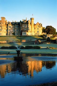 Skibo Castle, non members can stay only once! Membership is very limited.. And very expensive.