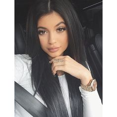 Brace Yourselves! Kylie Jenner Is Launching a Beauty Site ❤ liked on Polyvore featuring kylie, kylie jenner and hair
