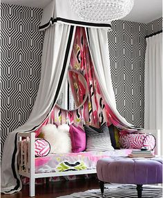 Teen Girl Bedrooms - From basic to captivating design suggestions. Hungry for extra eye popping teen room decor ideas please pop by the pin to study the article idea 5241338072 at once Girls Bedroom, Teenage Girl Bedrooms, Girl Room, Bedroom Decor, Bedroom Ideas, White Bedroom, Modern Girls Rooms, Feminine Bedroom, White Canopy