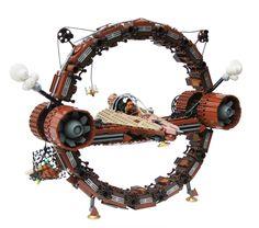 Star Wars + Steampunk + Lego might just be the Internet's purest form Lego Film, Steampunk Lego, Casa Lego, Lego Universe, Lego Ship, Lego Spaceship, Lego Mechs, Lego Military, Cool Lego Creations