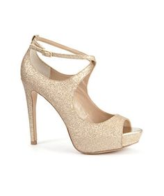 sparkly and glamorous..proof u dont have to pay a million dollars to look like a million bucks!