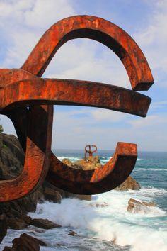 Peine de los Vientos, San Sebastián, Spain