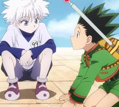 Hunter x Hunter. This is from my favorite story arc, the Hunter Exam!