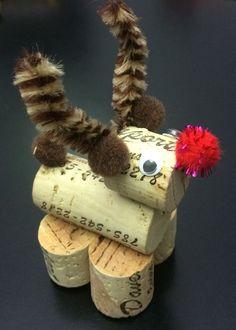 Wine cork Rudolph