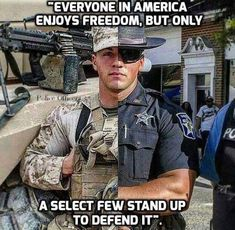 Taking into consideration machine gunning USMC culture, Think you can handle it? Military Police, Usmc, Marines, Police Officer Wife, Military Quotes, Gi Joe, Calling All Angels, Police Life, Support Our Troops