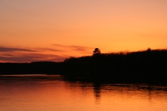 Lake Hilbert Sunset