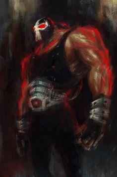#Bane, by Lance Murdoch. #Batman