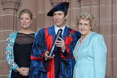 Liverpool Echo interview with Honorary Fellow Paul McGann at the Tuesday 15 July morning graduation