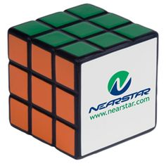 Rubik's promo squeeze ball