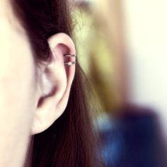 4b7aa36b847 Bague d oreille boucle de cartilage en titane pur