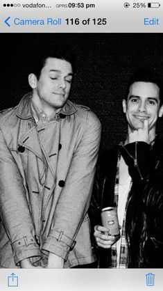 Find images and videos about bands, brendon urie and panic! at the disco on We Heart It - the app to get lost in what you love. Dallon Weekes, Love Band, Brendon Urie, Panic! At The Disco, Emo Bands, Pop Punk, Paramore, Fall Out Boy, My Chemical Romance