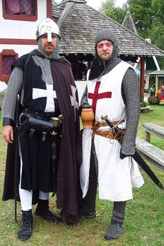 A knight of the Order of St John with a knight of the Holy Sepulcher | Flickr - Photo Sharing!