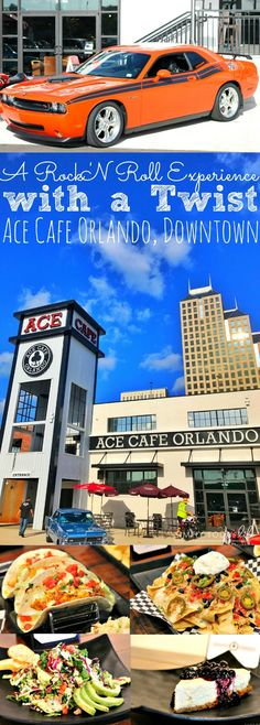A Rock 'N Roll Experience with a Twist at Ace Cafe Orlando, in Downtown Orlando Florida! A delectable mixture of Southern favorites with a twist of British Cuisine! Perfect for the entire family to enjoy, with nightly events and weekly live entertainment! - simplytodaylife.com