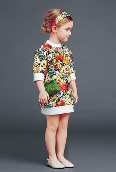 dolce and gabbana winter 2015 child collection 02