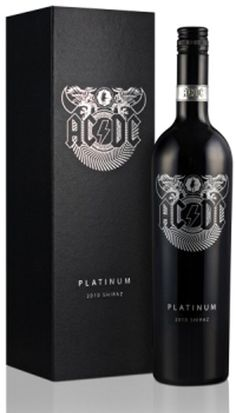 #ACDC platinum wine