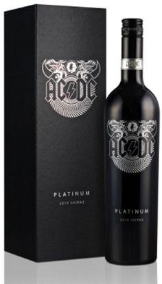 #ACDC platinum wine