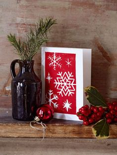 See all of our Christmas cards to make (50) http://www.allaboutyou.com/craft/Christmas-cards-wrapping-ideas