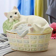 ZZZ Perfect Spot Cat Figurine by Lenox