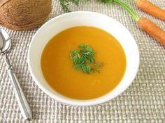 Karottencremesuppe mit Kokosmilch  ein Geheimtipp für alle Suppenliebhaber.