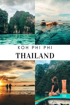 From relaxing on the beach, surrounded with turqoise water, to exploring the island and all the surrounding islands, here is 5 things you can do when you visit Koh Phi Phi in Thailand. Beautiful Islands, Thailand Travel, You Can Do, Exploring, Stuff To Do, Things To Do, Relax, Beach, Water