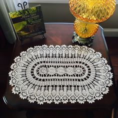 Natural Pineapple Doily