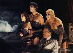 The Rocky Horror Picture Show - Lobby card with Susan Sarandon, Jonathan Adams, Barry Bostwick & Peter Hinwood