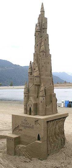 sand castle by Enja